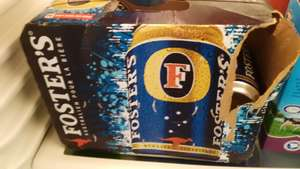 Walmart Istmo: cerveza Fosters 12 pack a $69.03