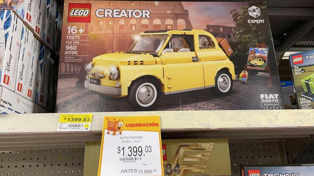 Walmart Miramontes: Lego Fiat