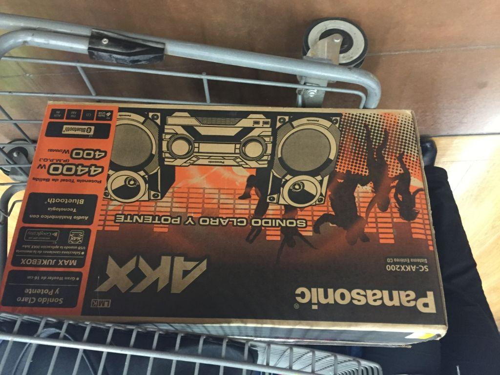 Walmart Jesus del Monte : Panasonic sc-akx200 a $1,149.01