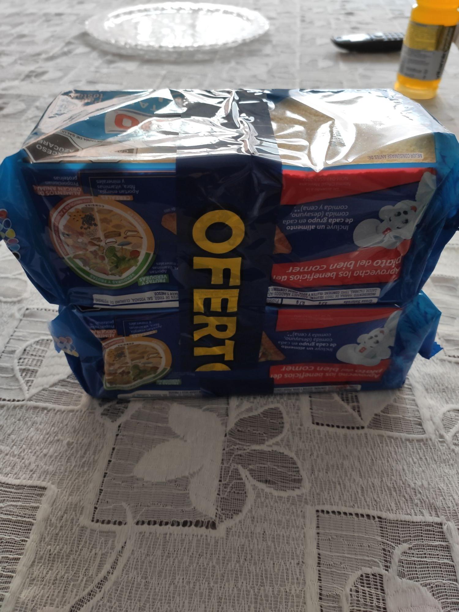 Walmart San Manuel Puebla: 2 paquetes de pan tostado por $27