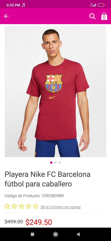 Liverpool: Playera Nike Barcelona