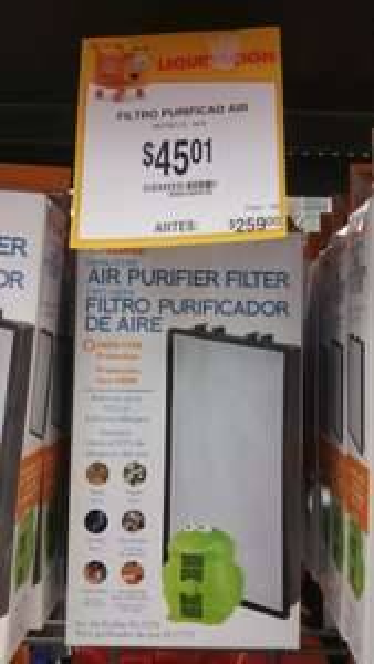 Walmart: filtro purificador de aire de la ranita a $45.01