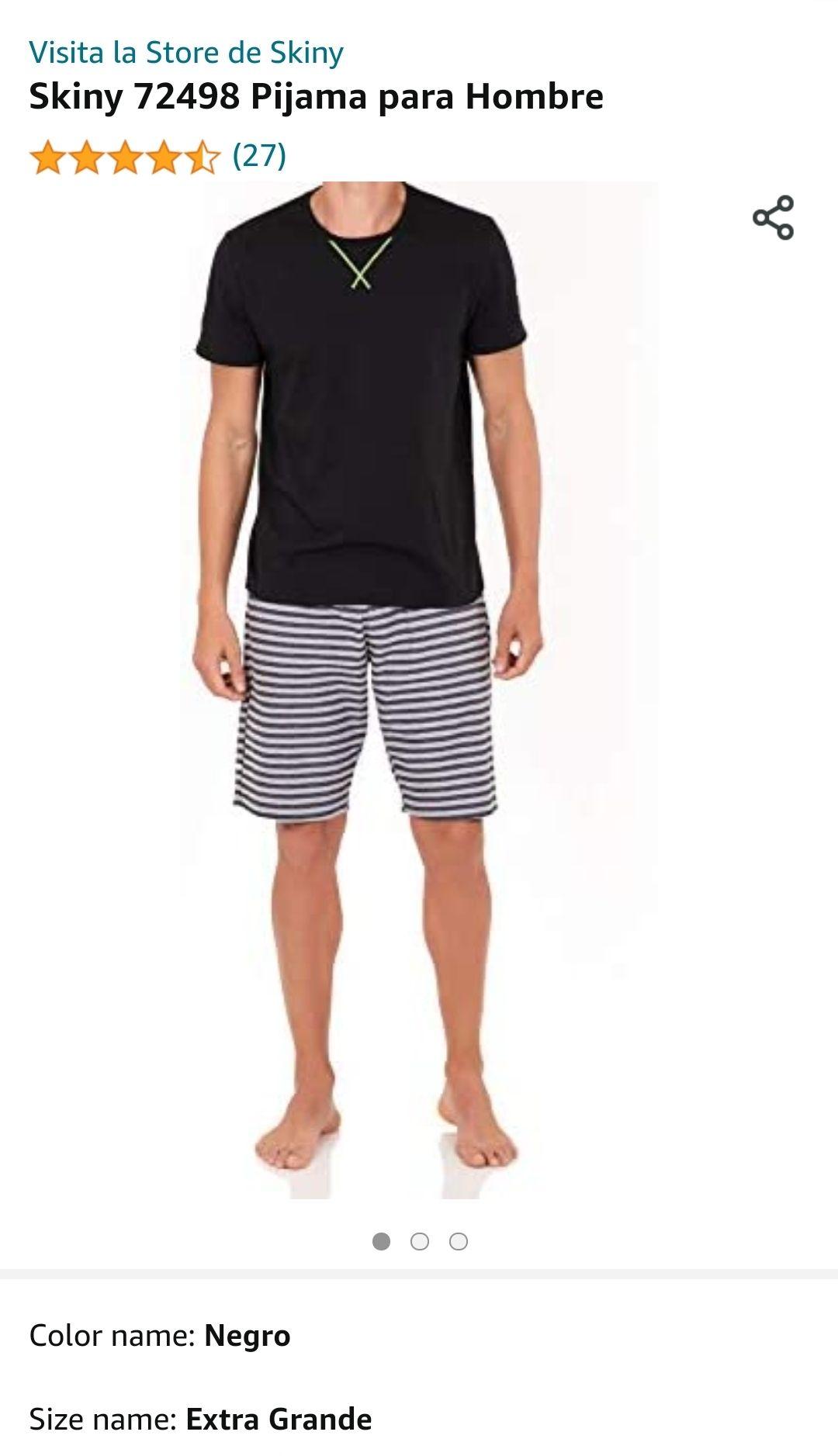 Amazon: Pijama para hombre