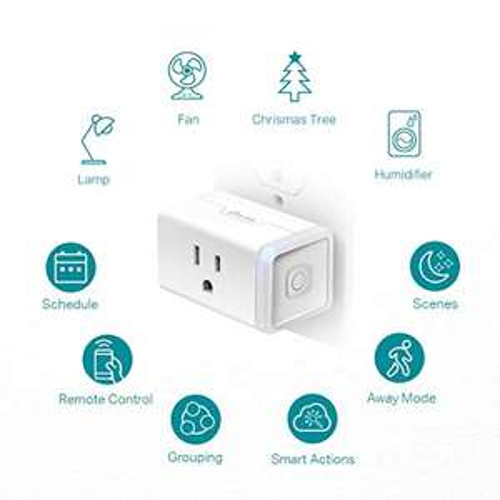 Amazon: Enchufe tp-link kasa compatible Alexa