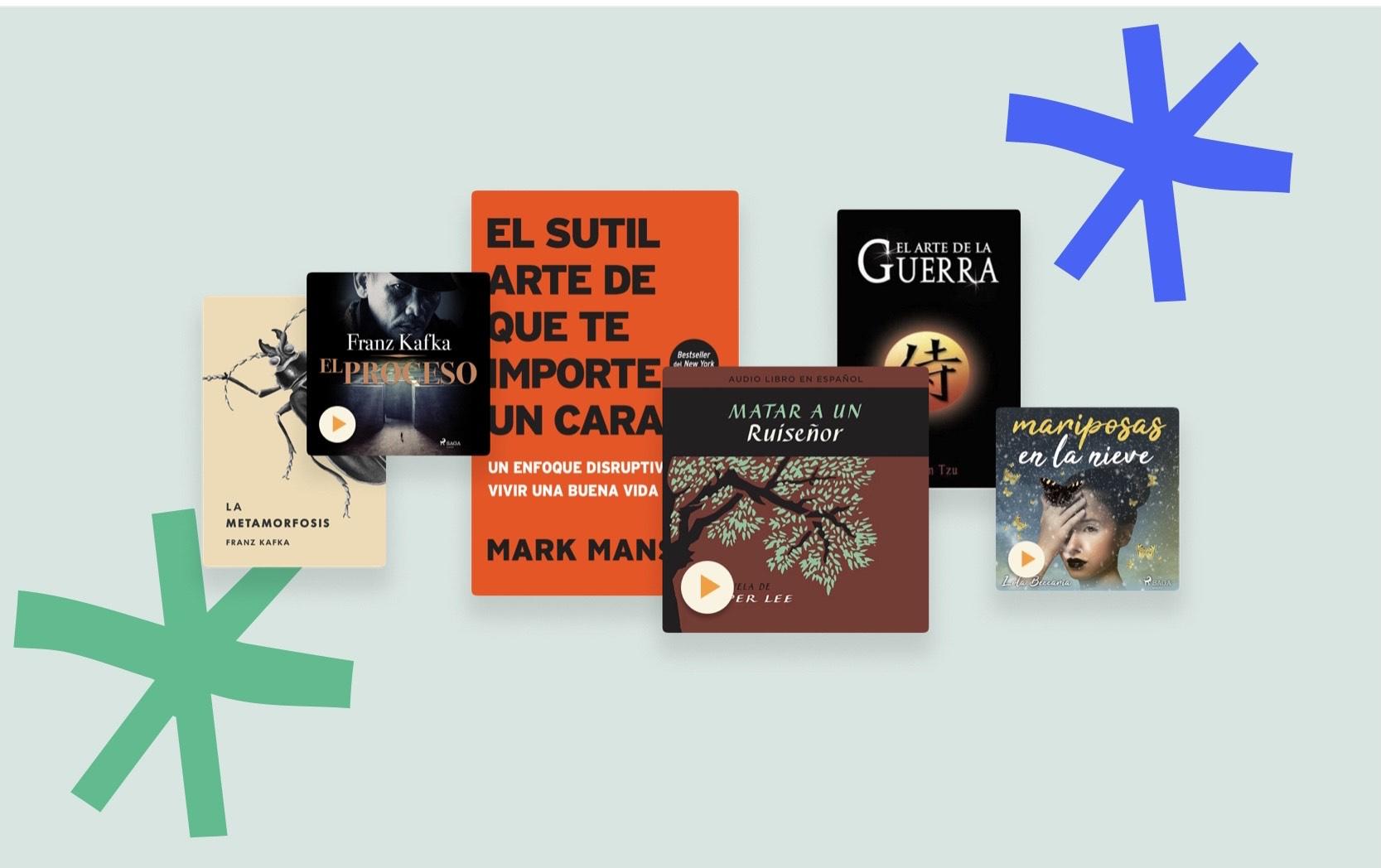 Bookmate Oferta 50% de descuento en suscripciones (libros y audiolibros)