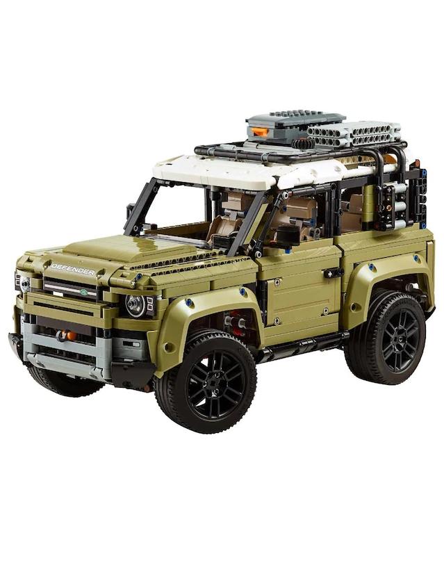Liverpool: Lego Technic Land Rover