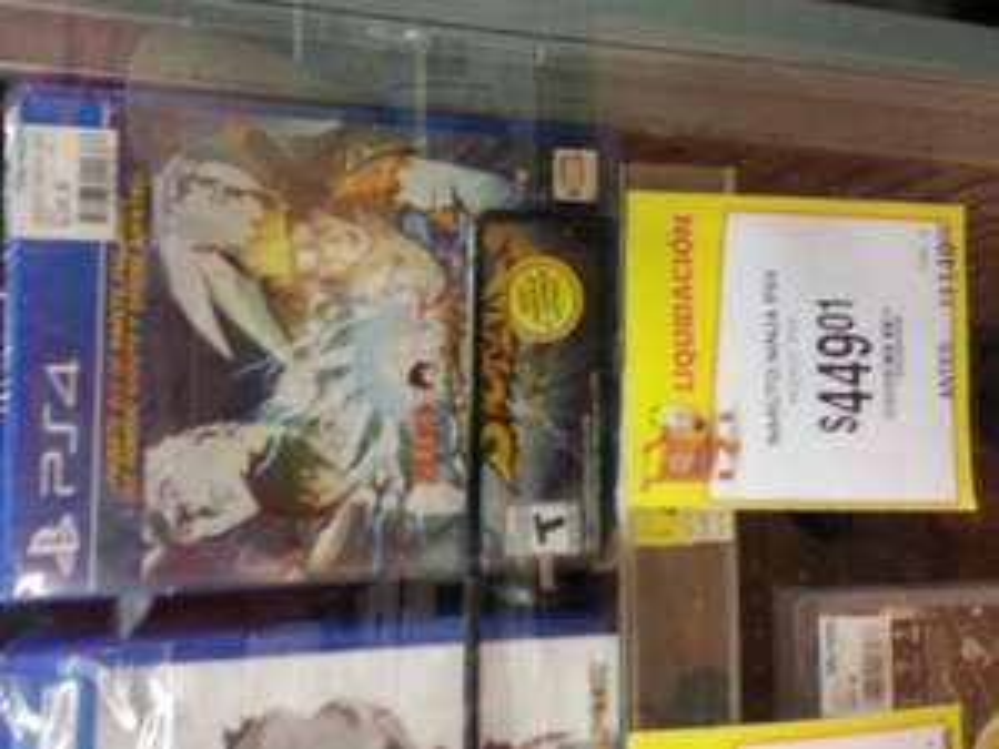 Walmart 68 Culiacán Sinaloa: Naruto ninja PS4 a $449.01
