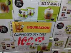 Walmart Puebla: Café Dolce Gusto x 2 + Taza a $162.03