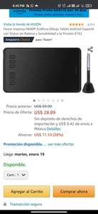 Amazon: Huion Inspiroy H640P Tablet