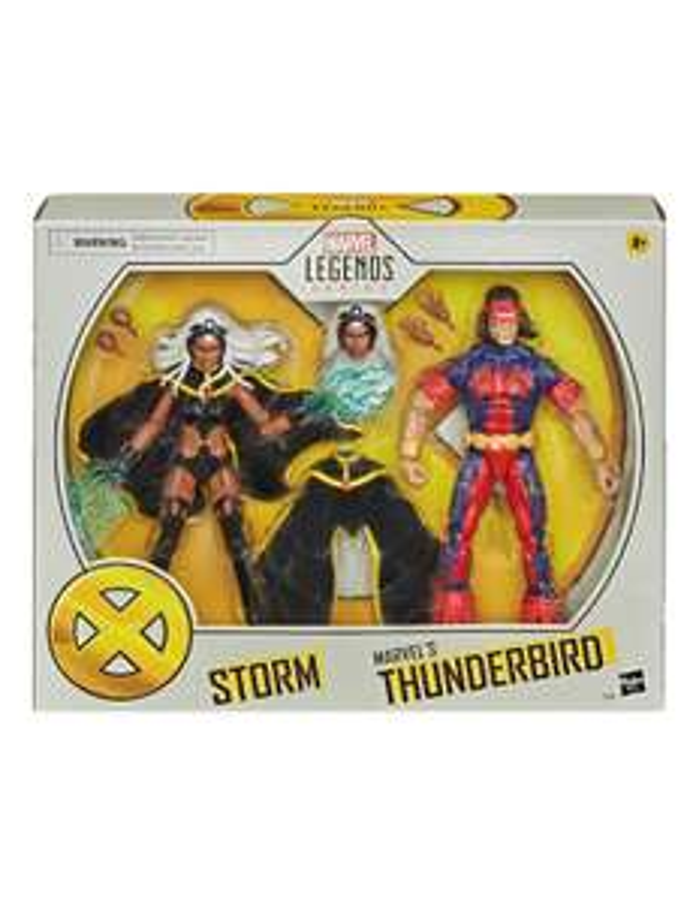 Liverpool: Set Figuras de Colección Tormenta y Ave de Tueno Marvel Legends Series