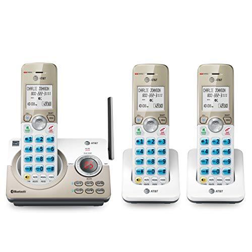 Amazon - 3 Telefonos Inalambricos con Conexion Bluetooth para Celulares