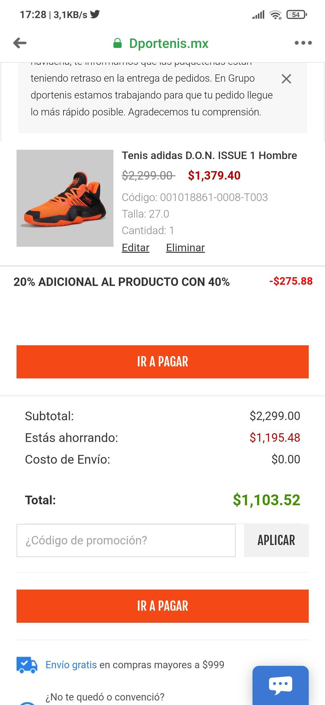 Dportenis: Adidas Don Issue 27 y 29 mx