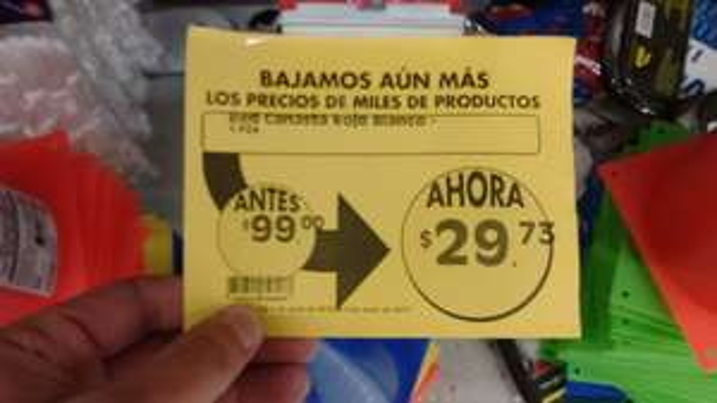 Comercial Mexicana: Malla para basketball en $15 y $30 pesos.