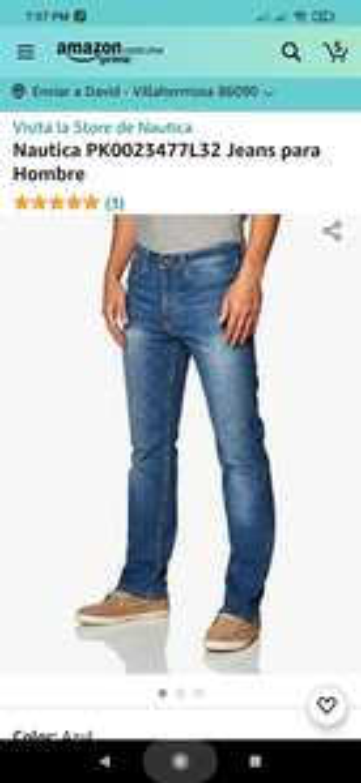 Amazon: Jeans nautica con envio gratis (prime)
