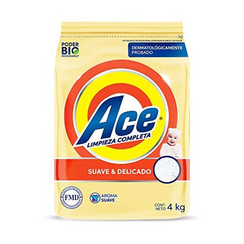 Amazon: Ace suave y delicado 4 kg