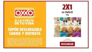 Oxxo: 2x1 cacahuates Mafer 65g