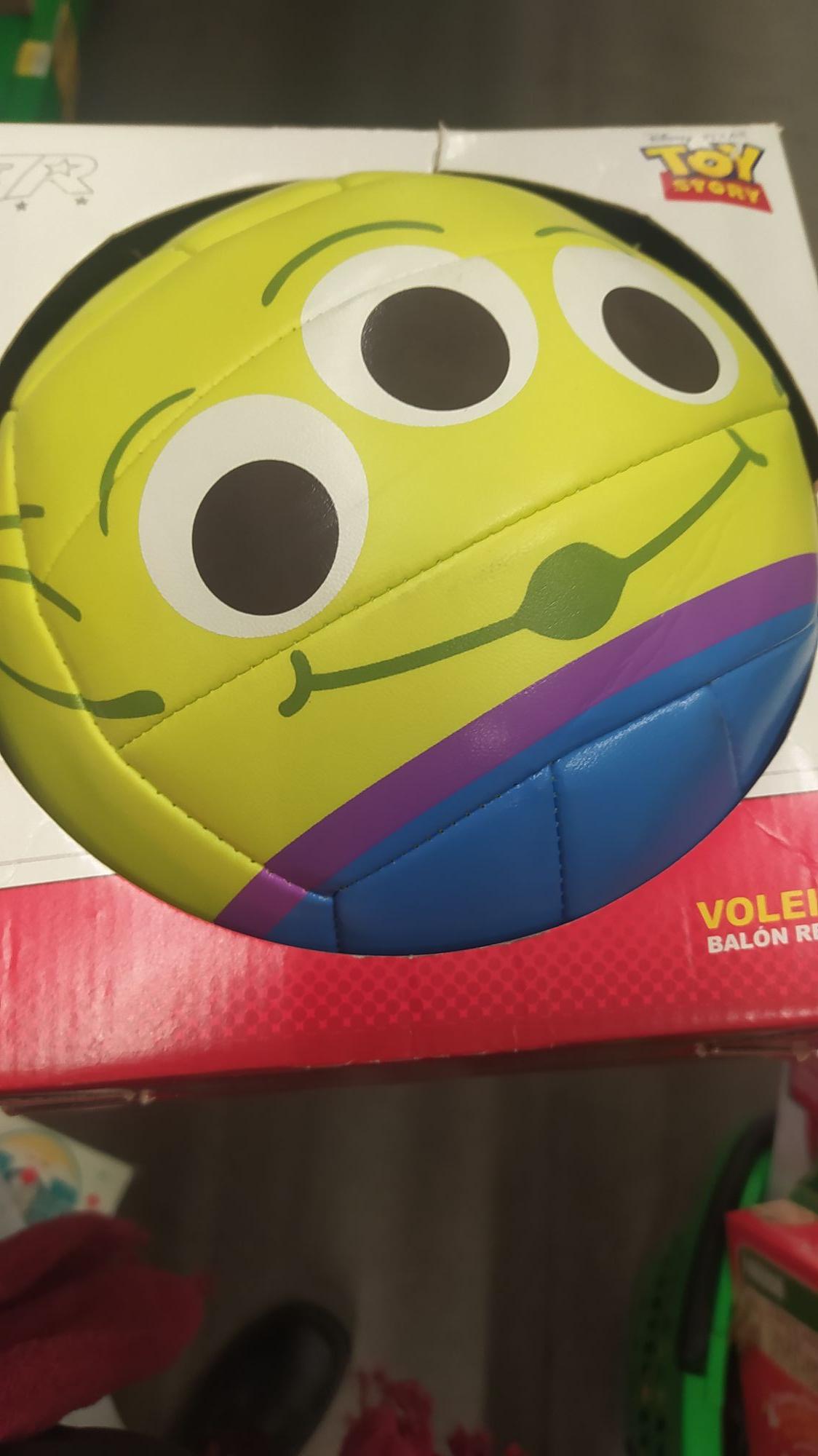 Bodega Aurrera Mexicali: Pelota de volley Toy Story