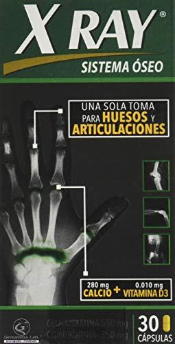Amazon: Cápsulas X-Ray Sistema Óseo Caja con 30 Cápsulas