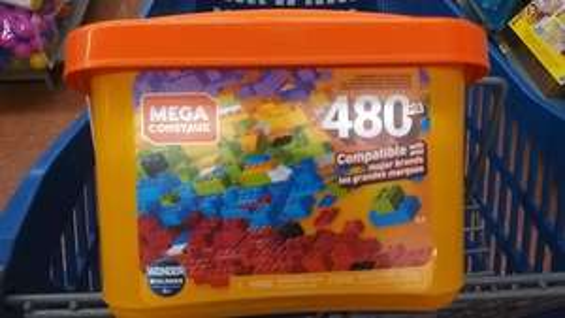 Walmart Acapulco: Mega blocks de 480 piezas baratísimo