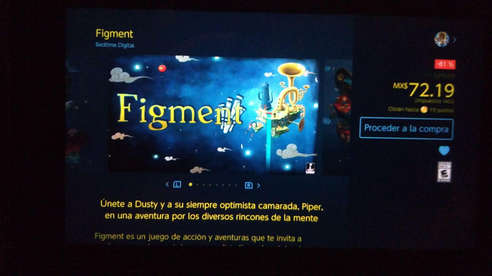 Nintendo eshop (Switch): Figment