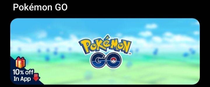 Galaxy Store: 100 pokémonedas por $8 (10% de descuento)