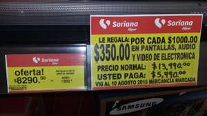 Soriana Mérida: Pantalla LG LED 4K Smart 40""