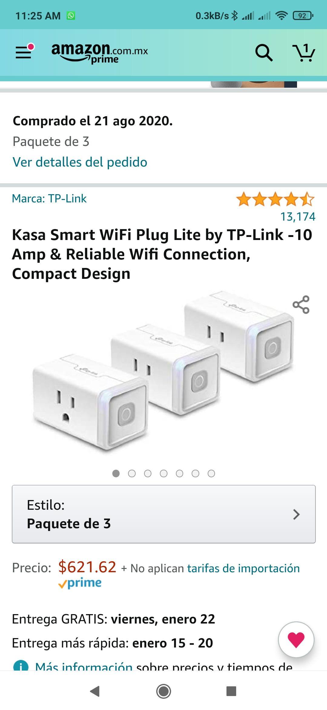 Amazon: Kasa Smart WiFi Plug Lite by TP-Link