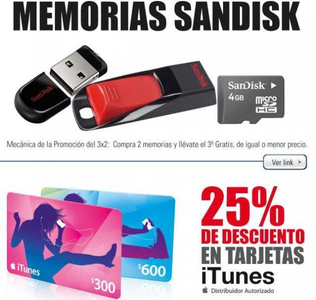 RadioShack: ofertas en tarjetas iTunes, PlayStation 3, memorias, accesorios y más