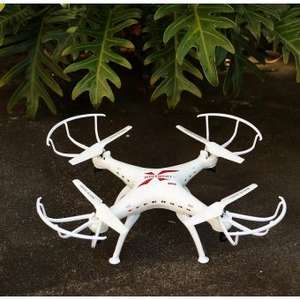 Linio: Drone 32.5cm Cámara 2Mpx HD 4Gb Luces Led Giro 360°
