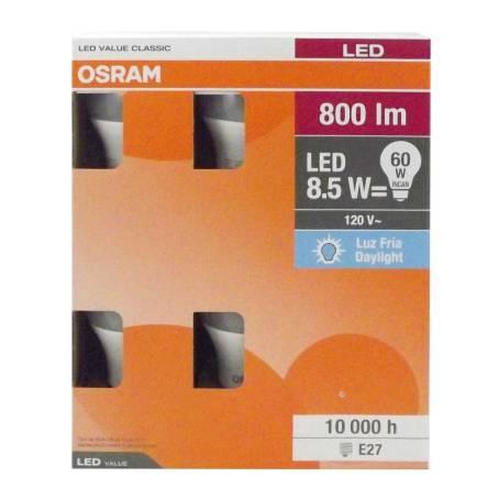 Sam's Club: Focos LED Osram Luz Fría 8.5 W 6 pzas