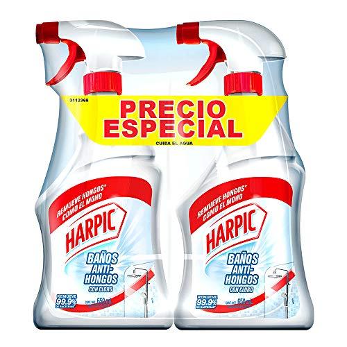Amazon: Harpic Antihongos, 650 ml, Pack of/Paquete de 2