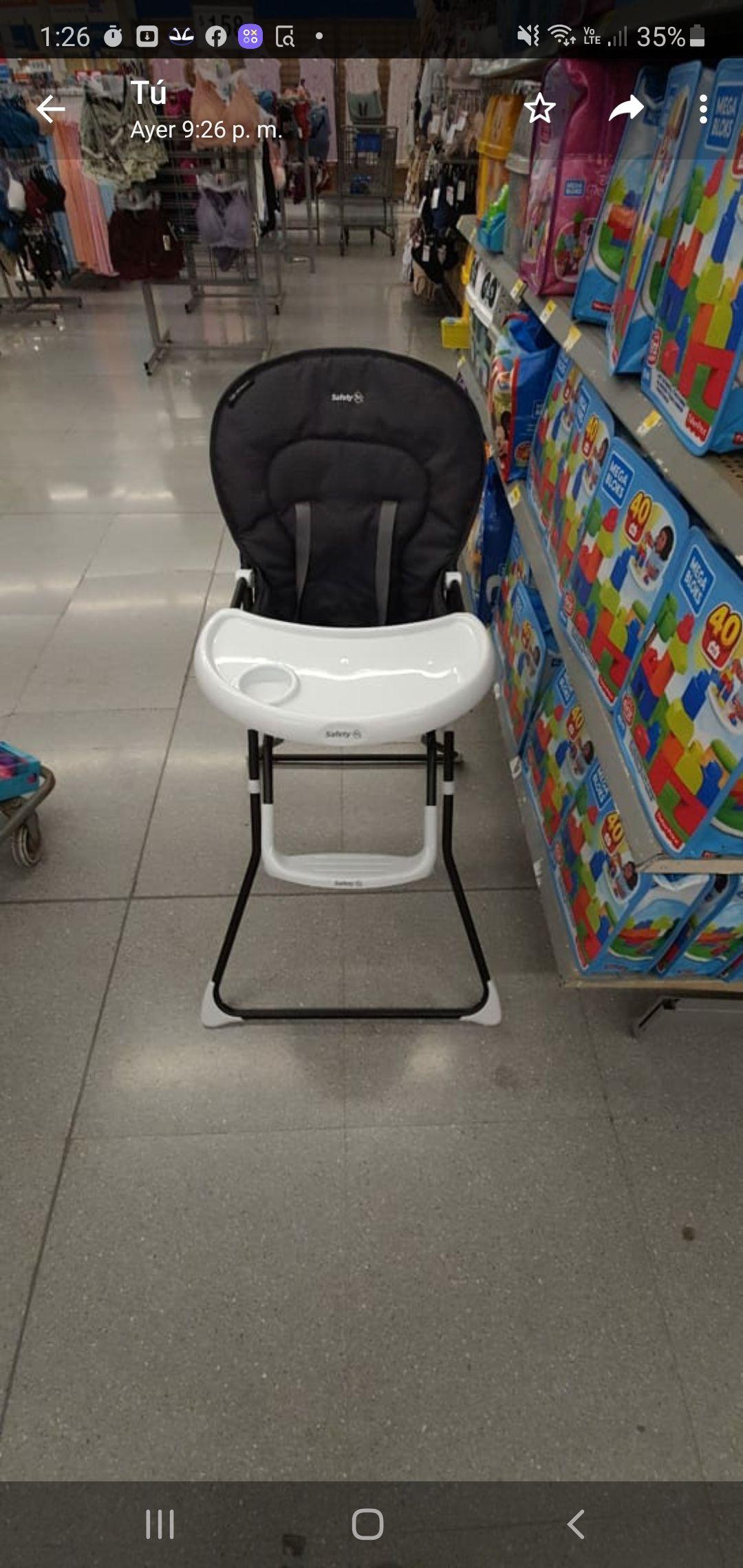 Walmart Boca del Río, Veracruz Silla alta safety 1st