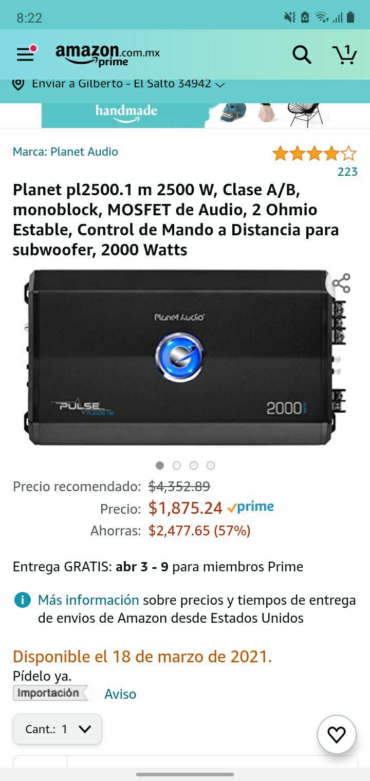 Amazon, Amplificador audio Auto