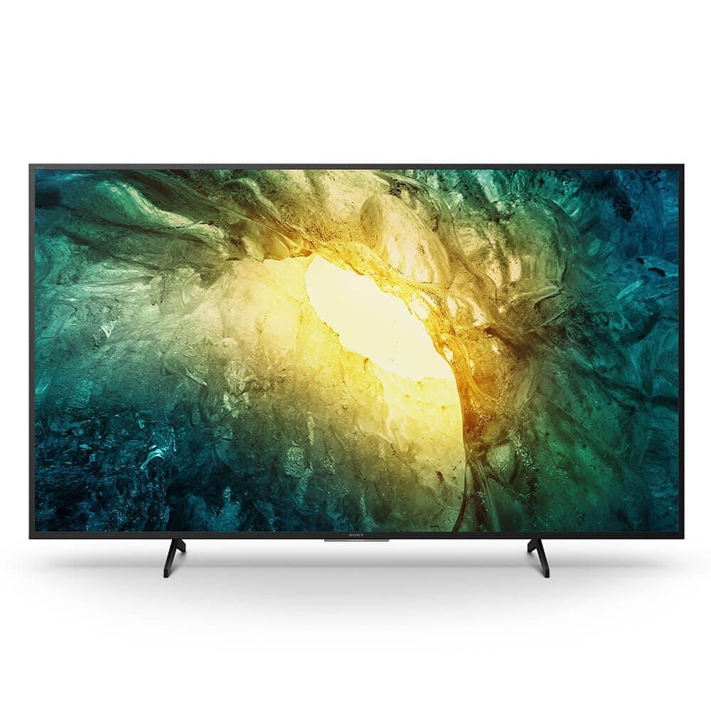 "Sony - Pantalla 75"" - 4K UHD|HDR - X1 4K Processor - Android TV - X75H Best Buy"