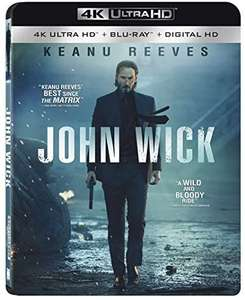 Amazon:John Wick Blu-ray 4K + Blu-Ray + Copia Digital
