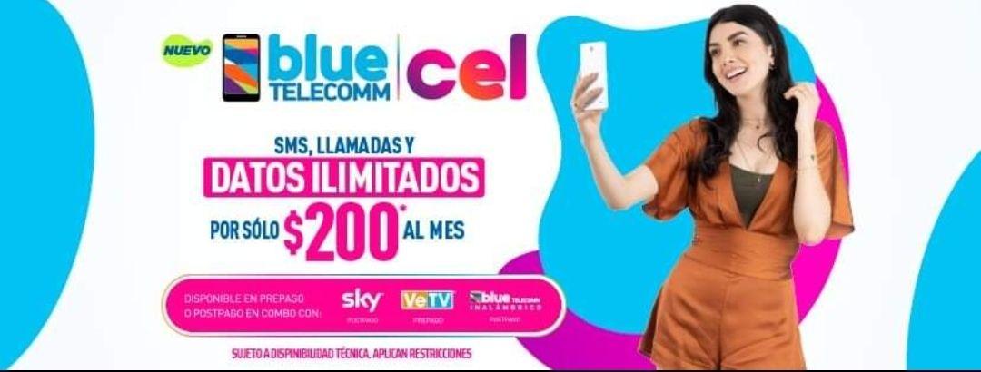 BLUE TELECOM CEL | ÚNICO PLAN ILIMITADO