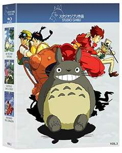 Amazon: Paquete Blu-ray Studio Ghibli
