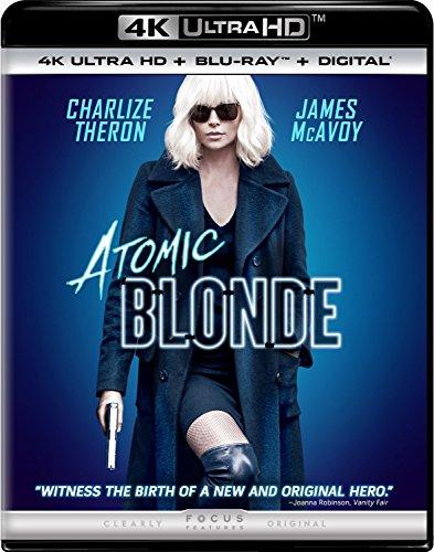 Amazon: Atomic Blonde 4K UHD + Blu ray + Digital