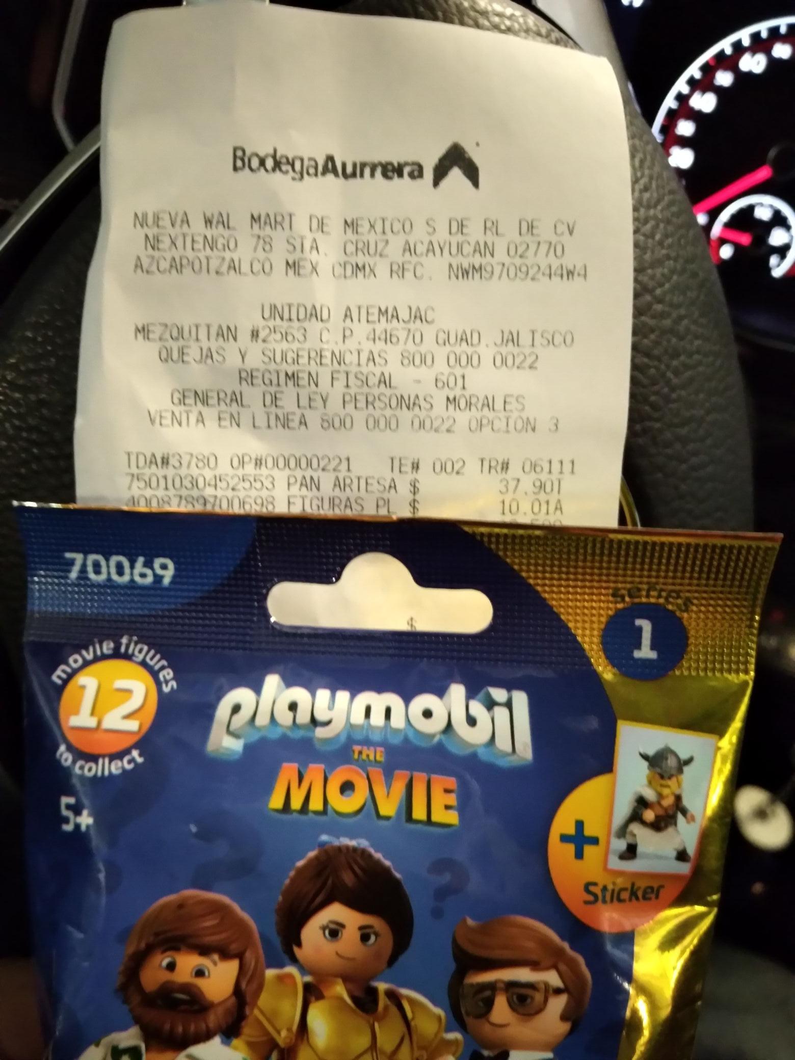Bodega Aurrerá: Playmobil un última liquidación
