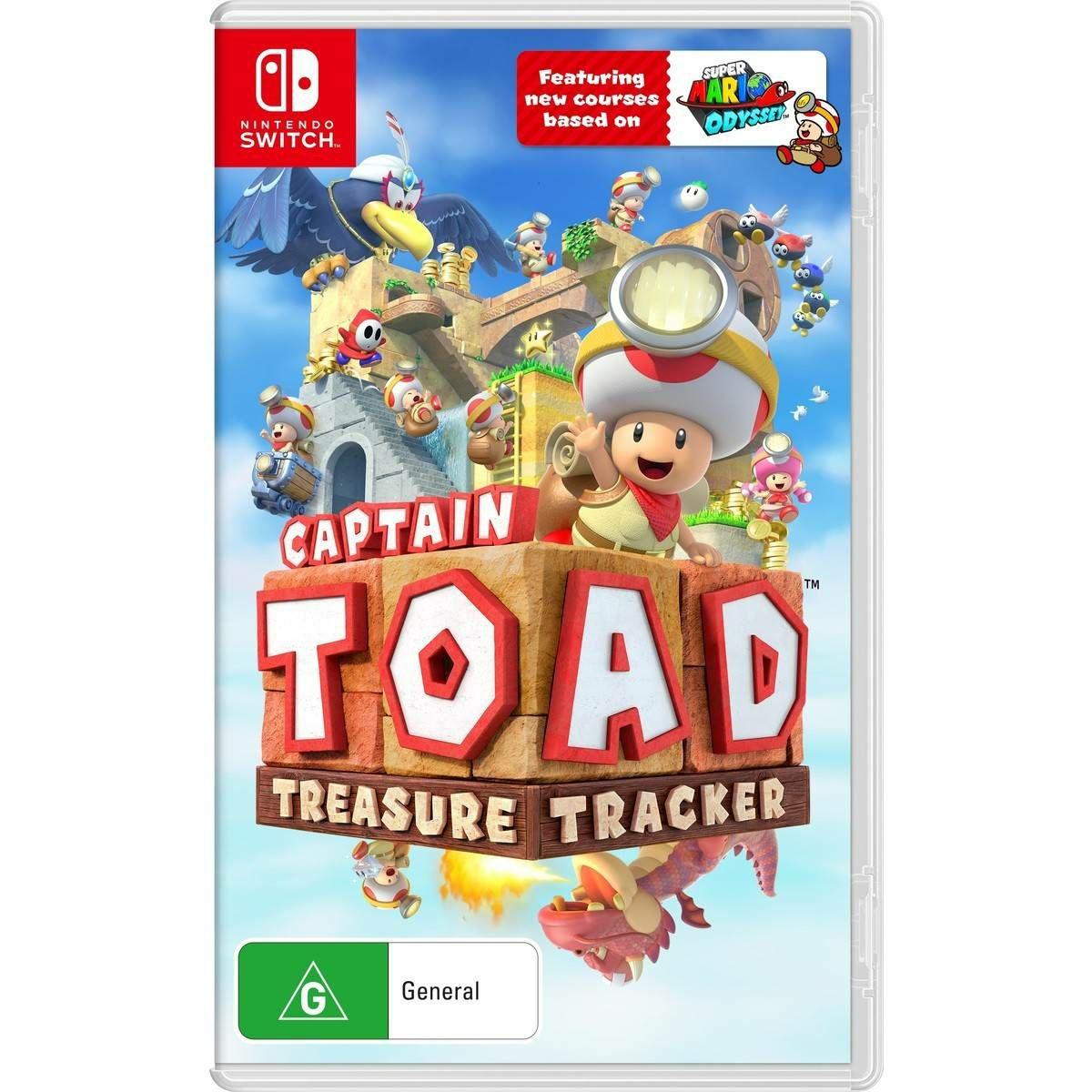 Eshop argentina: Captain Toad: Treasure Tracker