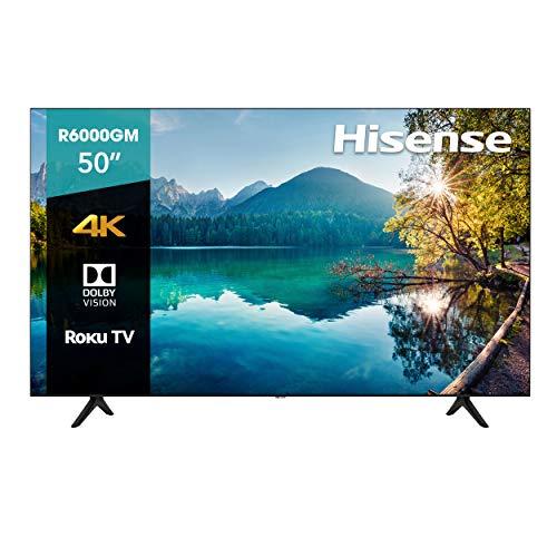 "Amazon: Hisense 50R6000GM Serie R6 50"" 4K Uhd, Smart TV, Roku TV, Hdr10, Roku Search, (2020) (50"")"