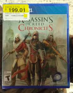 Walmart: Assassins Creed Chronicles PS4/XONE  de $499 a $199.01