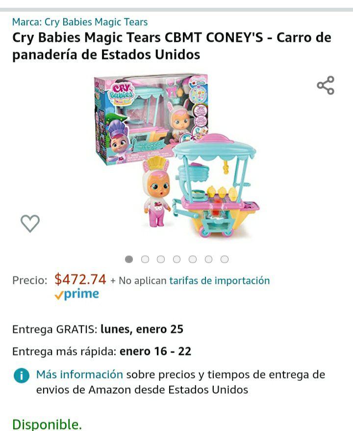 Amazon: Carrito de postres de coney
