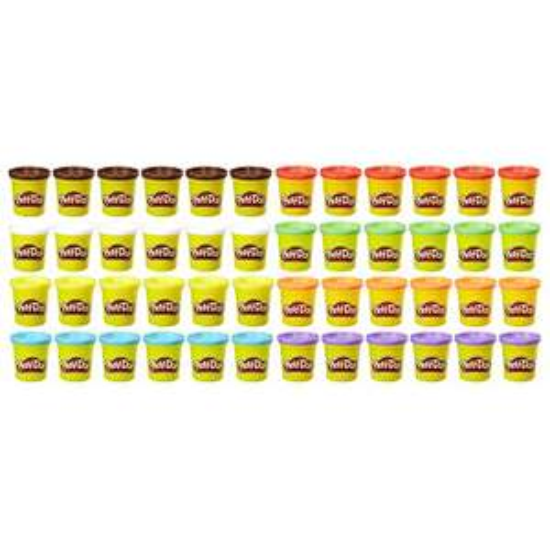 Amazon: Play-Doh Schoolpack 4Kg, 48 latas de masa para que las bendis la revuelvan