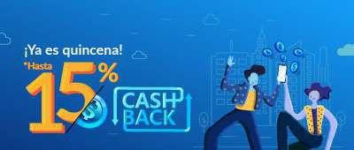 UnDosTres: ¡Hasta 15% de Cashback en cada quincena! (2021)