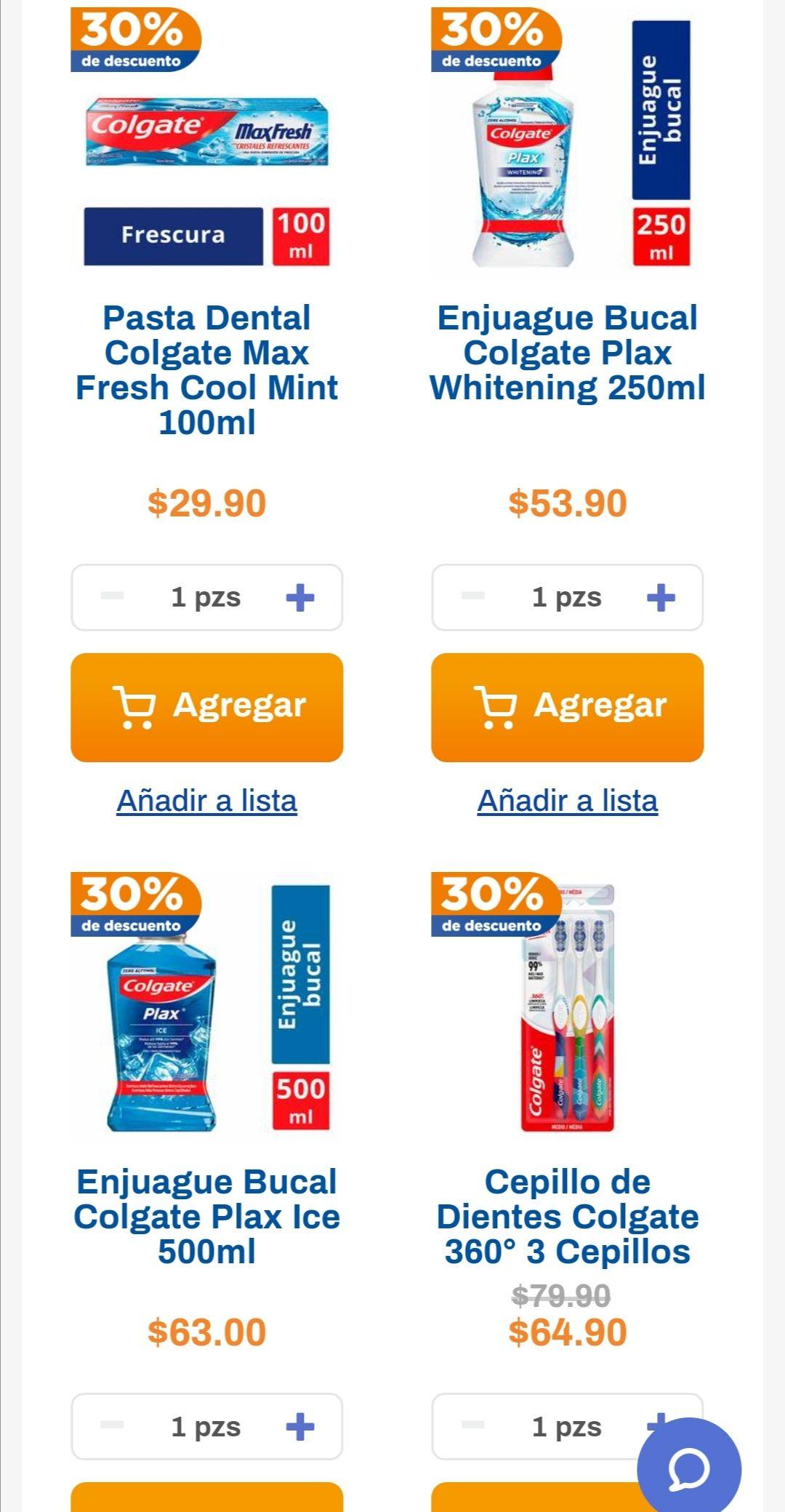 Chedraui: 30% de descuento en toda la higiene bucal Colgate