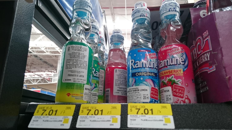 Walmart 15 de Mayo Puebla: Ramuné $7.01