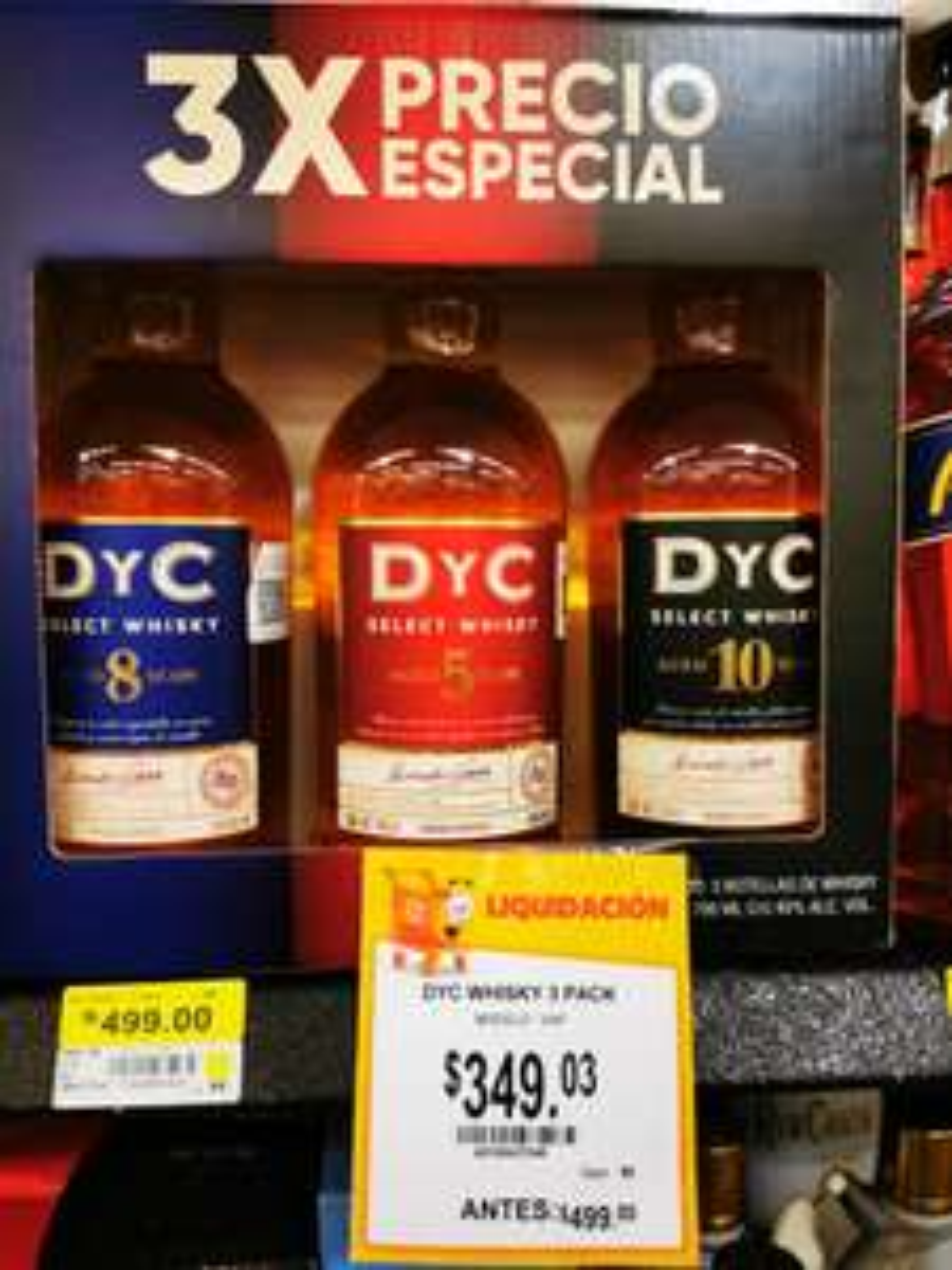 Walmart: Whisky D Y C