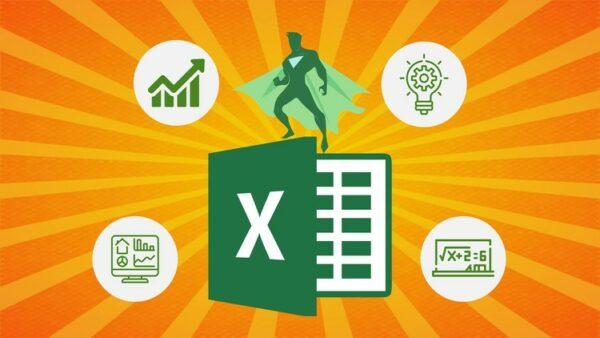 Udemy: Excel de Cero a Héroe en Microsoft Excel: Guía Completa de Excel 2021