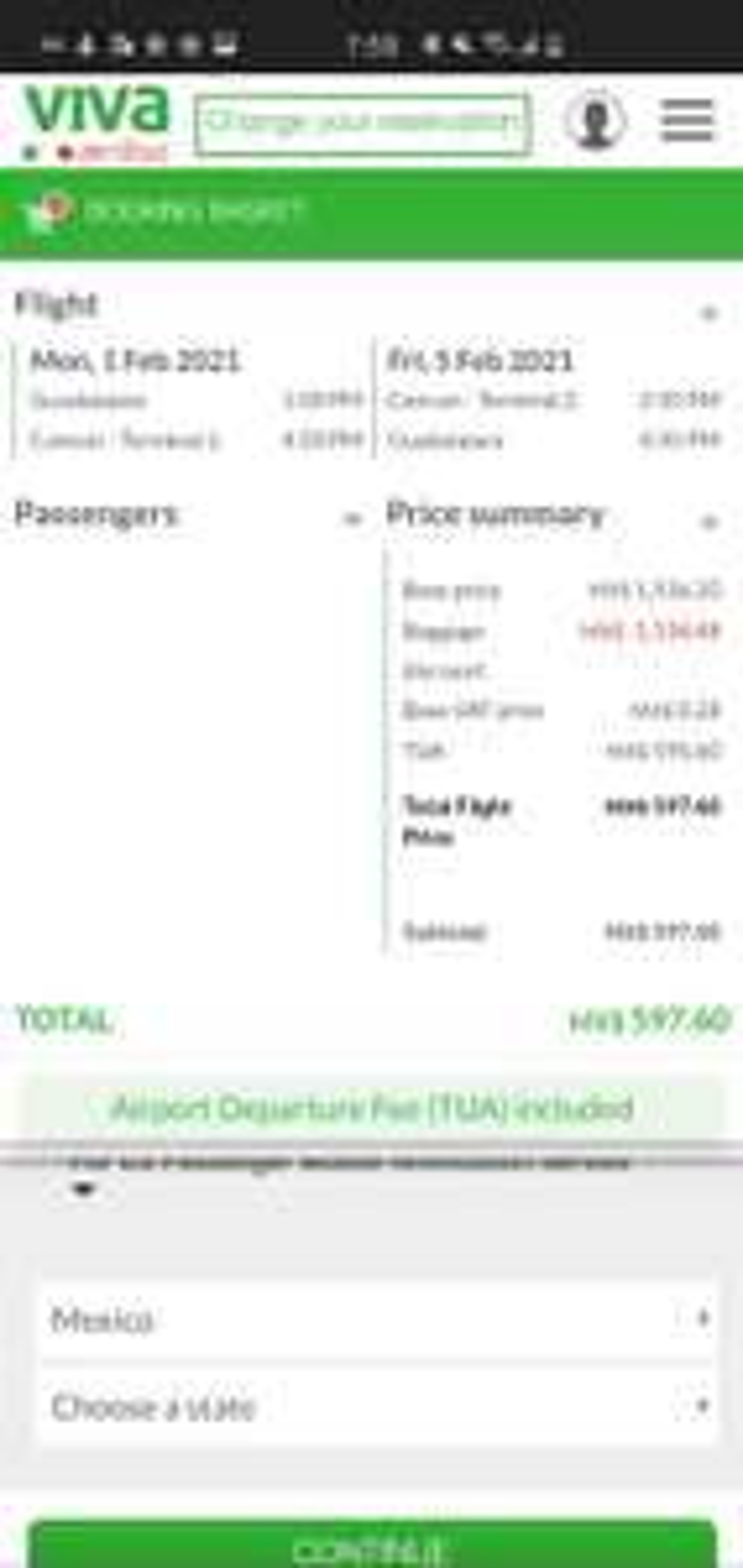 VivaAerobus vuelo redondo Gdl-Cancun (varias fechas) (incluye TUA)